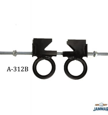 Dual Adjustable Beam Clamp | A-312B