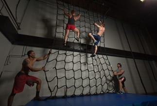 Indoor Cargo Climbing Nets