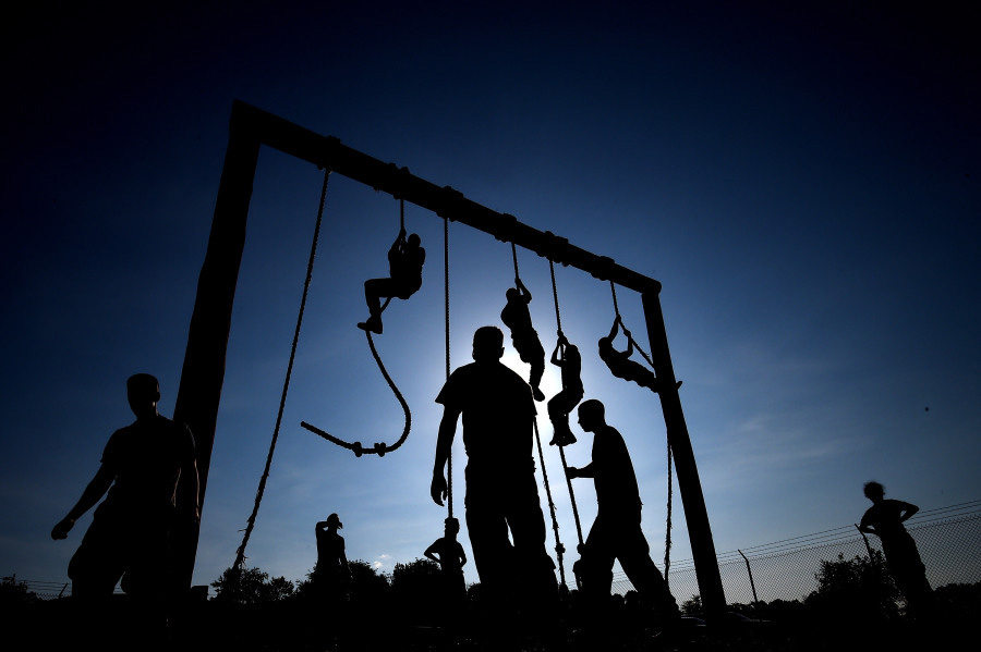 Military Obstacle Course Training Jammar Mfg