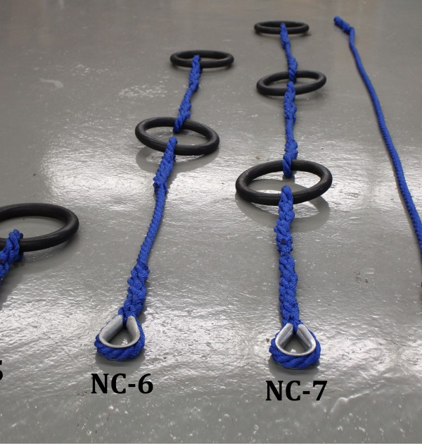 Ninja Course Rings