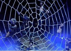 Spider Webs, Ship Masts & other Net Shapes